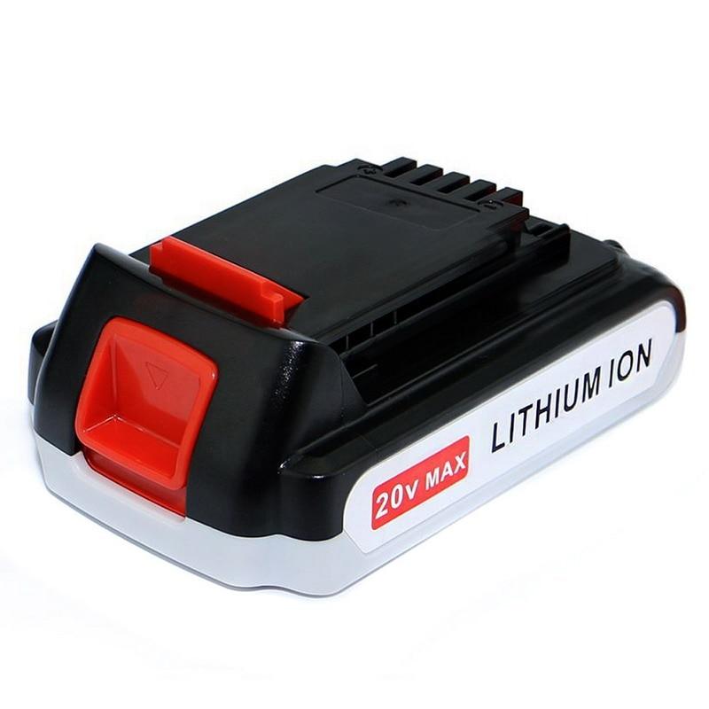 Battery Power Tool B&D 20V 1500 mAh Li-ion LB20 LBX20 LBXR20 BDCDMT120 CHH2220 LCS120 ASL188K LSW20 SSL20SB  T15 dste d li109 replacement 7 4v 2100mah li ion battery for pentax k 30 k r k 50 k 500 slr cameras