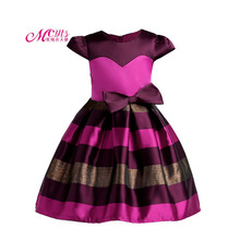 Big Bow Girl Dresses Princess Costume Kids Clothes Baby Girls Party Dress Children Summer Prom Dresses 3 4 5 6 7 8 9 10 Years