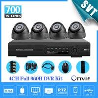 4ch Full 960h D1 Kit CCTV 3g Wifi DVR Recorder 700TVL Day Night Security Camera Surveillance
