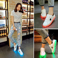 Led shoes for adults Women casual shoes led luminous shoes 2017  hot fashion led light shoes zapatillas deportivas mujer