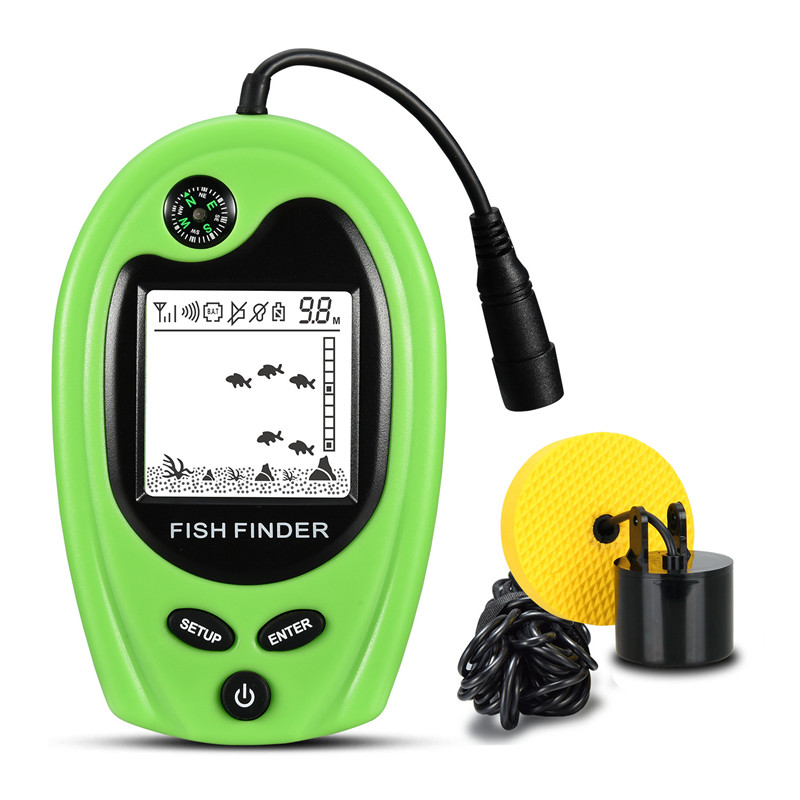 Free Shipping! Lucky FF818 Portable Fish Finder Depth ...
