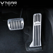 Vtear для Mazda 3 Axela 2017 2018 автомобиль акселератора масла Подножка педаль пластина сцепления дроссельной заслонки Тормозная педаль салонные аксессуары