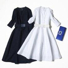 Veydu, летнее женское элегантное платье с круглым вырезом и поясом, повседневное, для работы, вечерние, для особых случаев, ТРАПЕЦИЕВИДНОЕ, длинное платье