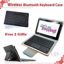 Universal Bluetooth Keyboard Case For Asus Zenpad 10 Z300CL Z300CG Z300C 10.1″Tablet Wireless Bluetooth Keyboard Case+2 gifts
