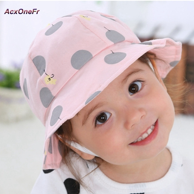 Toddler Girls Sun Hat Clothes Accessories Baby Summer Princess Bucket Caps  for 1-2 years baby WM-012 2d426404715