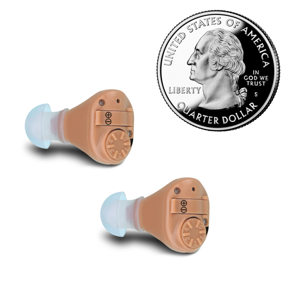2PCS ITE Hearing Aid mini Hearing for Deaf Best Tone Hearing Aids for the elderly Loud Clear Hearing Amplifier aparelho auditivo