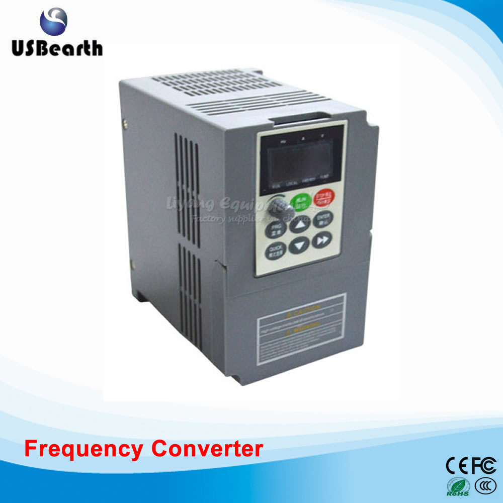 0.75KW-45KW Input Single Output 380V General Purpose Inverter vector Frequency converter for CNC Router Milling Machine 1 5kw 2hp 300hz general vfd inverter frequency converter 3phase 380vac input 3phase 0 380v output 3 8a
