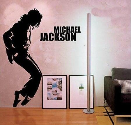 Michael Jackson MJ dança música figuras da parede vinil decalque adesivos de parede Mural papel de parede arte decoração