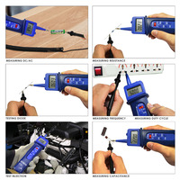 Pen Style Automotive Multimeter Car Application Test Voltage DC/AC Frequency Resistance Digital Tester