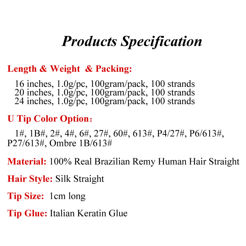 New Arrival Pre Bonded Remy Ombre I Tip Hair Extension