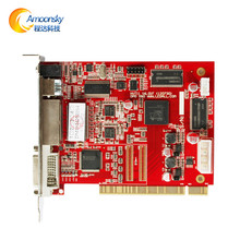 DBS HVT11IN full color colorful graphic video card led control card for flexible video wall transparent