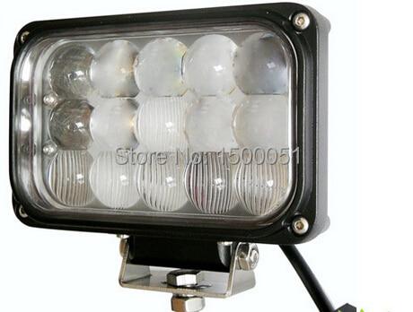 цена на 1piece NEW 7 inch 3x5leds 45W  led headlight high beam led headlamp for truck Offroad