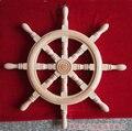 Dongyang резьба по дереву Средиземноморский домашний стиль декоративная деревянная резьба деревянная архаизма корабль рулевое колесо