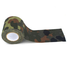 4.5*500cm Plastic Retractable Non-woven Outdoor Camouflage Hunting Tape
