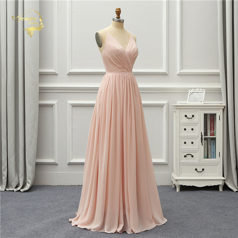 44b7d628bb71 ... V-neck Satin Beaded Women Party Long Prom Gown Evening Dresses Robe De  Soiree Vestido De Festa. US $149.04. View Offer