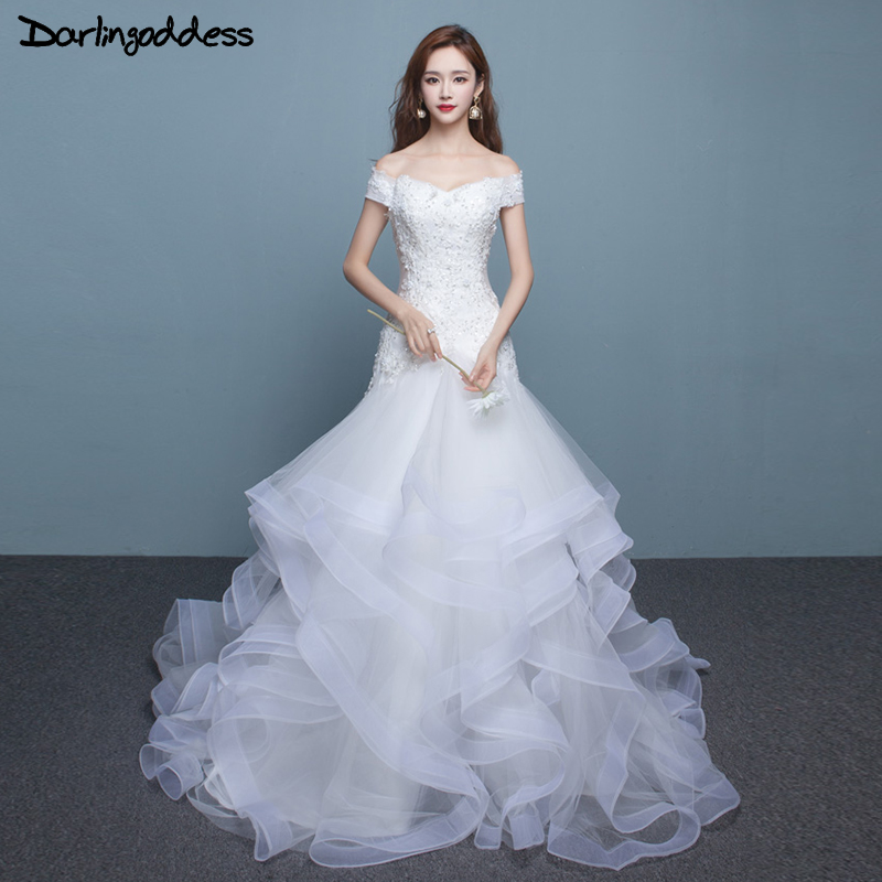 Aliexpress 2017 Real Photos Vintage Mermaid Wedding Dresses Cap Sleeves Lace Custom Made China Gowns Plus Size Vestido De Novia From
