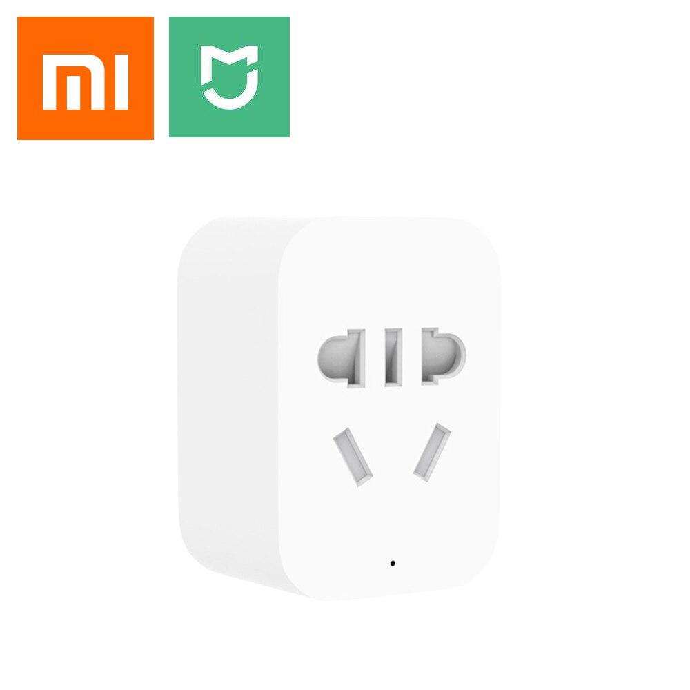 Xiaomi Smart Home Mijia Smart Plug Wifi Socket ZigBee APP Wireless Con