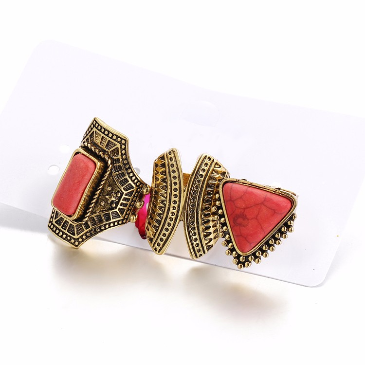 HTB1mZvgMVXXXXbkXFXXq6xXFXXXw Boho Style 3-Pieces Vintage Punk Knuckle Ring Set For Women - 2 Colors