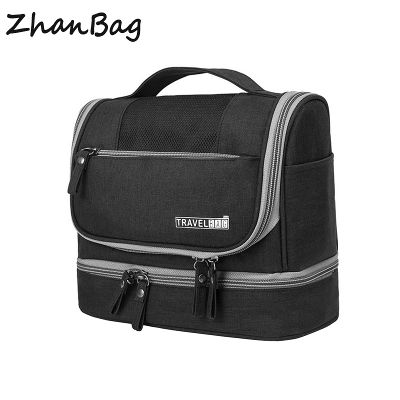 Designer Hanging Toiletry Bag Travel Cosmetics Bag Waterproof Oxford  Organizer for Travel Accessories Toiletry Kit for Men Women-in Cosmetic Bags    Cases ... f53ad4bbb4164