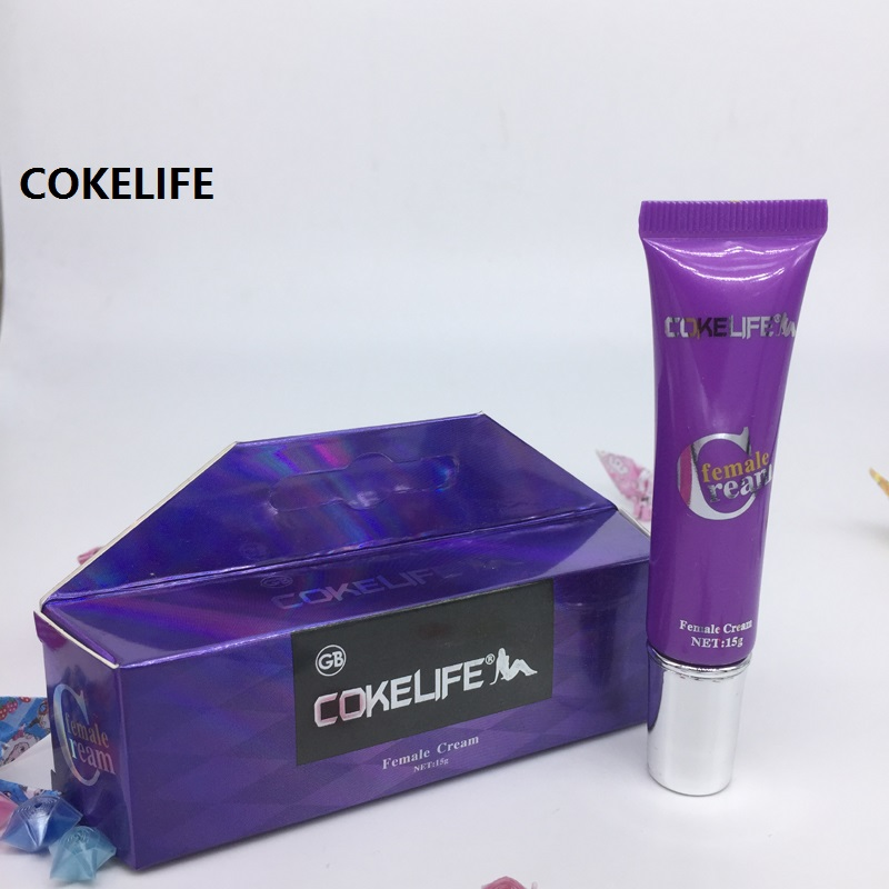 2017 New Cokelife Men's Love Sex Cream Products Orgasm Enhance Gel Sexual Libido Drops Lubricant For Women Climax Pleasure