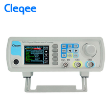 Cleqee JDS6600-60M JDS6600 Series 60MHZ Digital Control Dual-channel DDS Function Signal Generator frequency meter Arbitrary 12mhz arbitrary waveform dual channel high frequency signal generator 200msa s 100mhz frequency meter