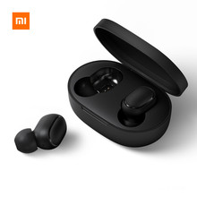 Xiaomi Redmi Airdots Xiaomi Wireless earphone Voice control Bluetooth 5.0 Noise reduction Tap Control(China)