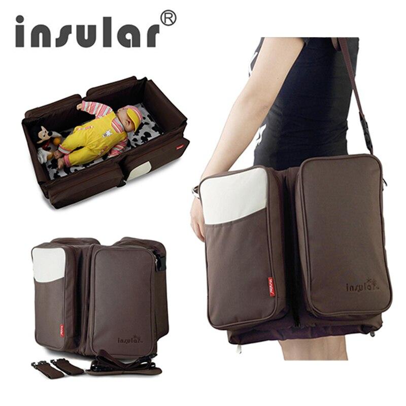 Kidlove Multi-function Mummy Bag Portable Mobile Folding Travel Bed Pregnant Baby Crib