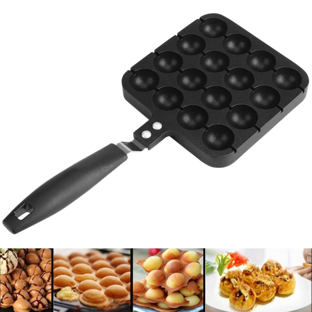16 Holes Takoyaki Grill Pan Plate Cooking Baking Mold Octopus Ball Maker Machine  Home Cooking Baking Tools Kitchen Accessories