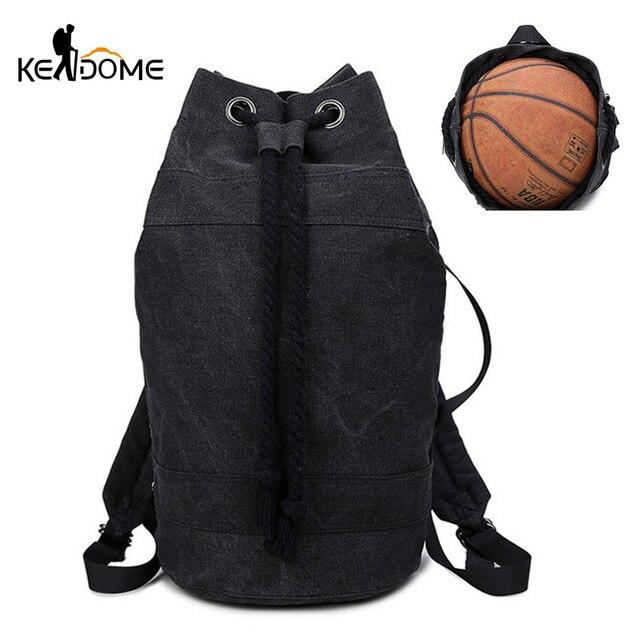 3b604dcb66 Men Sport Gym Drawstring Backpacks Basketball Fitness Bags Women Training  Backpack Soild Color Unisex Outdoor Sport Bag XA392WD