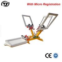 TJ Wholesale Manual Logo Screen Printing Machine Simply Screen Printer 45 60cm Hot Sales