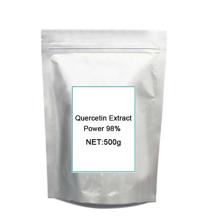 Top quality pure Quercetin Extract 98% UV/95% HPLC free shipping for 500grams все цены