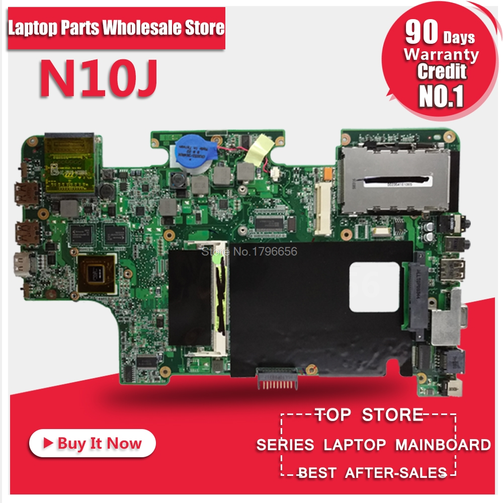 Laptop Motherboard For ASUS N10J System Board Main Board Mainboard Card Logic Board Tested Well Free Shipping d05021b maine board fittings of a machine tested well original