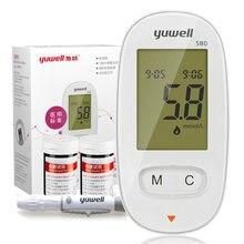 купить Glucometer Diabetes Blood Glucose Meter Monitor Kit Medical Blood Sugar Meter Tester 50 Pcs Glucose Test Strips Lancets по цене 1467.75 рублей
