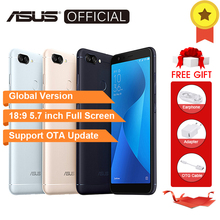 Global Version, ASUS ZenFone Max Plus M1 ZB570TL X018D,Pegasus 4s 3GB 32GB 5.7 inch 18:9 Full Screen OTG 3Slots 4G Smartphones(China)