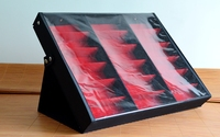 18 Grids Fabric Compartment Storage Box For Glasses Sunglasses Jewelry Display Tray Holder
