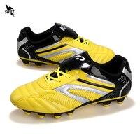 32-45 masculino feminino ag sapatos de futebol gramado ao ar livre longo spike menino crianças botas fg fotball chuteiras futsal esporte treinamento tênis