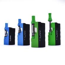 цена 2019 IMINI V2 Thick oil Cartridges Vaporizer battery 650mAh Box Mod 510 Thread battery with 1.0ml cbd Wax Atomizer vape pen
