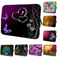 Butterfly Heart Neoprene Soft Zipper 15 15 4 15 6 15 5 Inch Laptop Notebook Sleeve