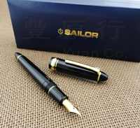 Japan original Sailor 1521 standard torpedo 21k gold fountain pen FREE shipping