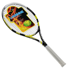 New Carbon Aluminum Light Tennis Racket Squash Racquet Training And Competition Head Speed Tennis Racket 102 Square Inch Racket
