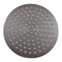 Stainless Steel and ABS plastic 8 Inch bathroom Shower Head sprayer Fixed Mount Rainfall Style , Brushed Nickel