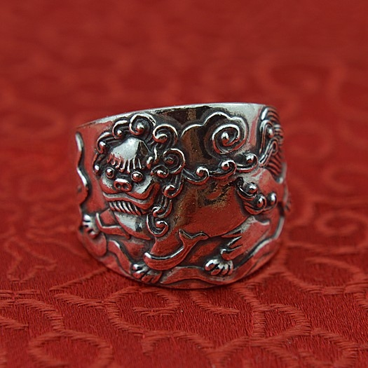 vintage fine silver unicorn 999 sterling silver ring men to ward off bad luck very domineering board quit big yards зонт автомат labbra зонт автомат