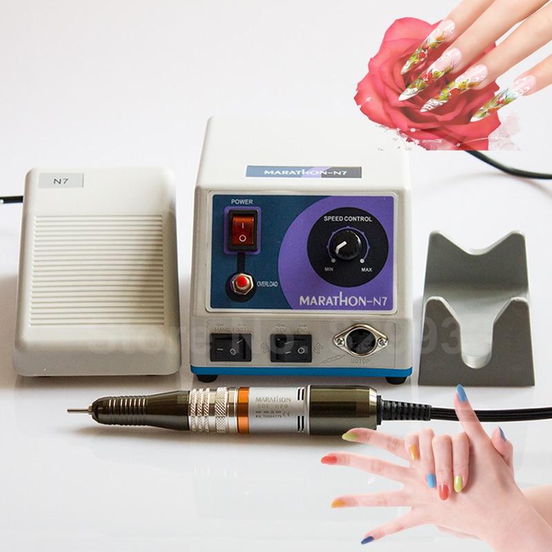 Nuevo N7 Micromotor + MARATHON SDE-H20 Juego de piezas de mano con - Arte de uñas - foto 1
