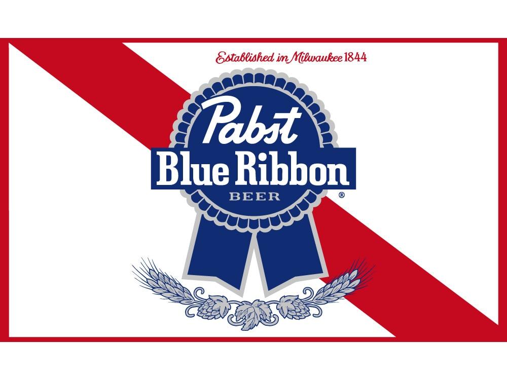 3x5 Piedi 90*150 Centimetri Pbr Pabst Blue Nastro Di Nylon Indoor Outdoor Bandiera Per La Decorazione Profitto Piccolo
