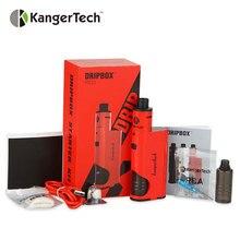 Original kangertech dripbox + kit de arranque e cigarrillo 60 w con subdrip tanque 7 ml capacidad mod sin 18650 batería kanger