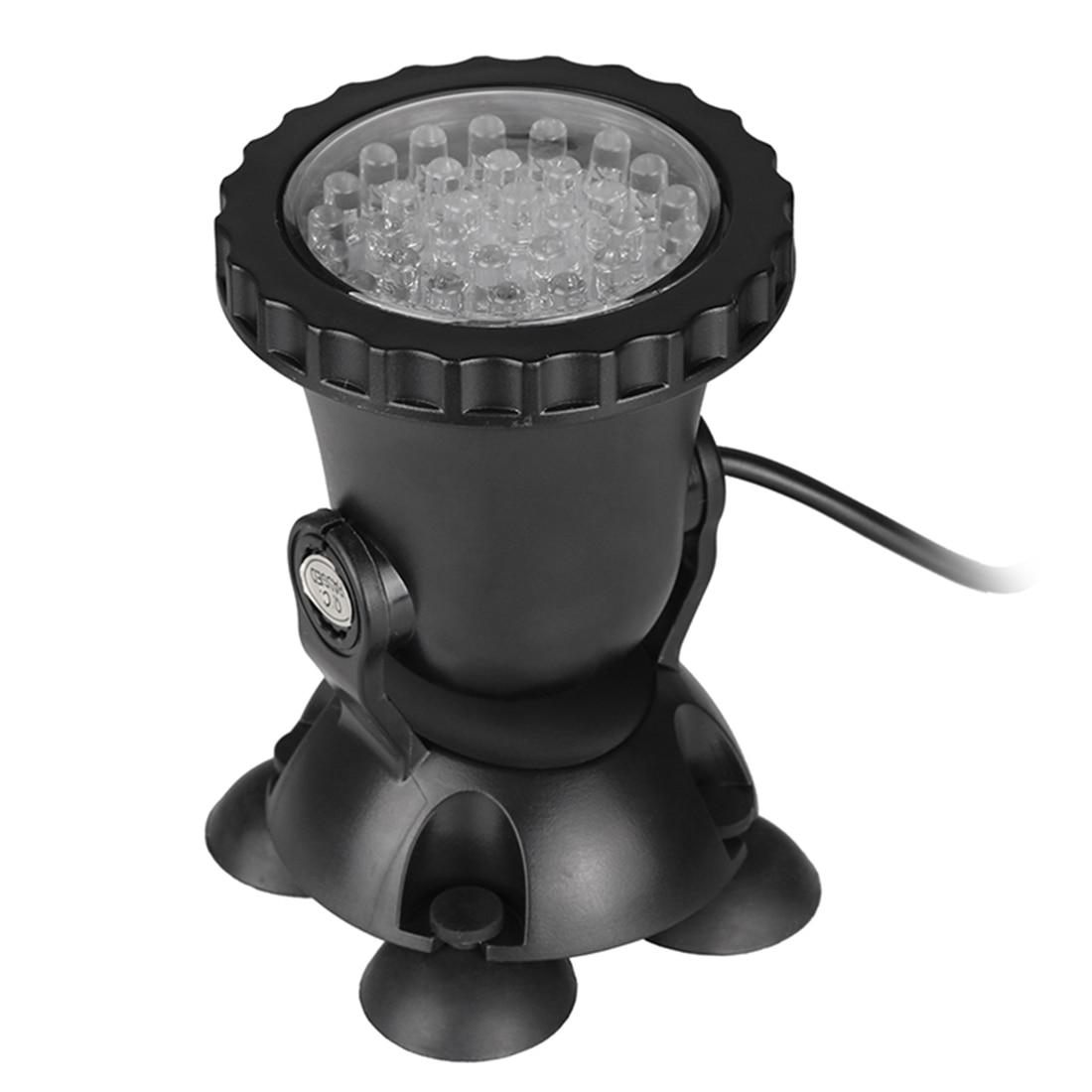 Projecteur de réservoir de poissons de LED projecteur imperméable de lampe d'aquarium (prise de l'ue)-lumière changeante de couleur