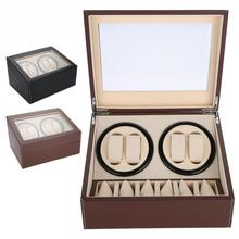 Makeup Accessories Watch Winder for 4 Automatic Watches  6 G