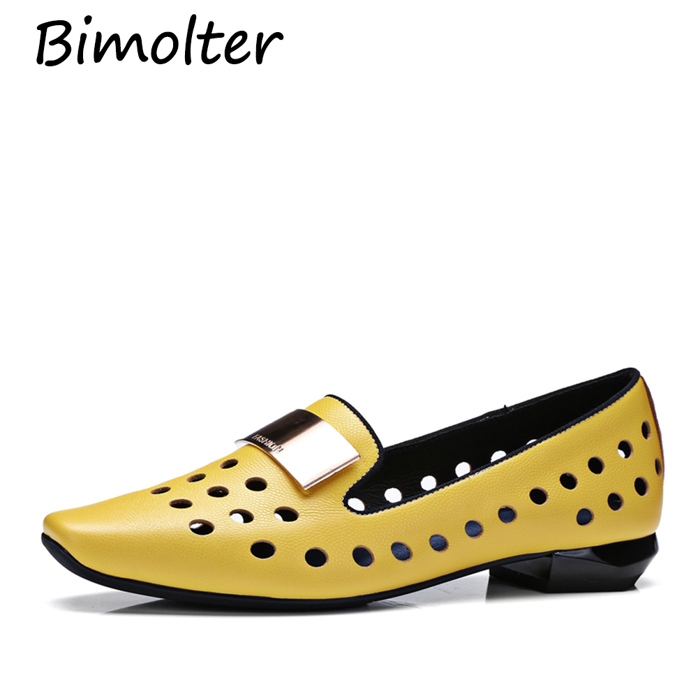 Bimolter Fashion Women Pumps Sexy Cut-Outs Women Dress Shoes Genuine Leather Holes Design Casual Summer Breathable Shoes FC147Bimolter Fashion Women Pumps Sexy Cut-Outs Women Dress Shoes Genuine Leather Holes Design Casual Summer Breathable Shoes FC147