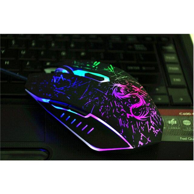 USB Компьютерная Проводная игровая мышка