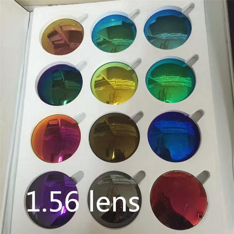1.56 Optical sun lenses Myopia Lens Coating Polarized Shot colored lenses for eyes Professional custom myopia lens